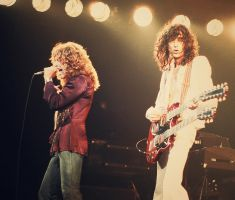 Robert Plant and Jimmy Page by Romain-1er