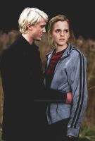 Draco and Hermione by EvgeniaSummer