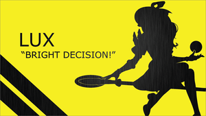 Lux Quote Silhouette - Yellow - Black - 1920x1080 by urban287