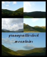 Welsh Mountains by GRANNYSATTICSTOCK
