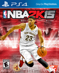 NBA2K15PS4 Anthony Davis cover by chronoxiong