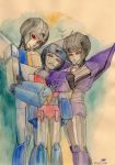 The three little seekers by Loonydoll9
