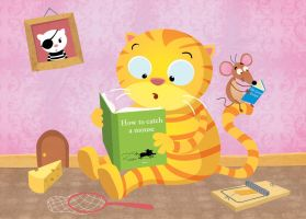 cat and mouse by hanno