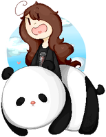 Ride Your Panda by BubbIeBunny