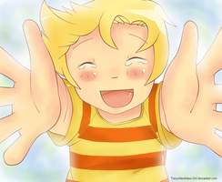 Mother 3 - Lucas by TokyoMewMew-Girl