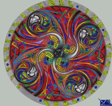 Celtic Mandala by BumwardoImortal