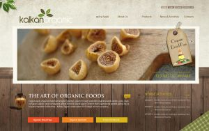 Kalkan Organics Website by grafiket