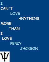 I Love Percy Jackson by KidFestus07