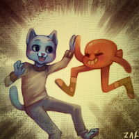 Gumball by ZacharyWolf