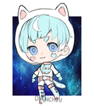 [ AUCTION ] KITTY SPACE CADET (closed) by DANCH0U