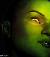 The Green Woman by TerrAquAeris