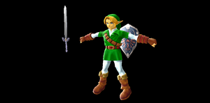 Melee Adult Link by Valforwing