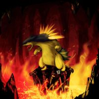 30 mins something: Typhlosion by Bathiel