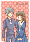 Yuki x Machi (Fruits Basket) by KyubiKen