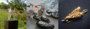 Jewellery inspired by Sherlock by Milwa-cz