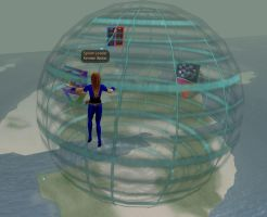 Blitzball Sphere - Second Life by Renmiri
