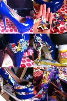 Tutoria Comic Shoes by SaniaArshad32