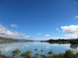 Glassy Lake Tekapo by God-KingTaupo