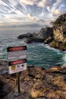 Danger on Stradbroke Is by gorkath