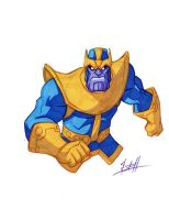 Thanos by natelovett