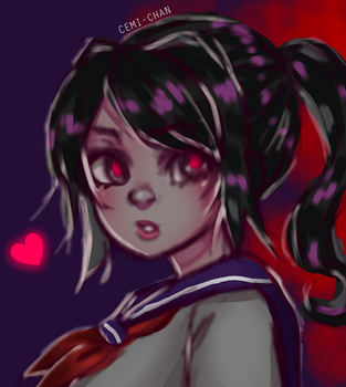 Yandere-chan by Cemi-chan