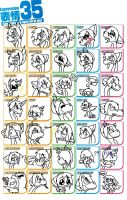 35 expressions meme by Peace-Love-AwEsOmE