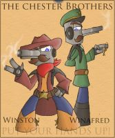 Bros With Ammo: The Chester Gunmen by KD476
