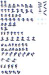 Sonic Riders ZG sprites by falcon-the-echidna