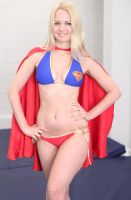 Supergirl - beach style # 3 by sleeperkid