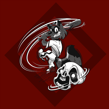 Baseskull Racoon by carykaiba
