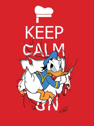 Threadless-Donald Duck by foursixsix