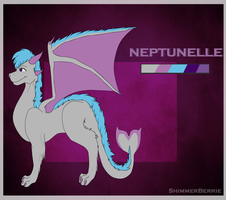 Neptunelle Reference by ShimmerBerrie