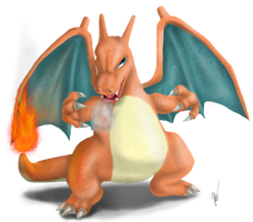 Charizard by EmilyKiwi