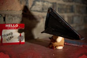 SH Munny: Pyramid Head 2 by Meagan-Marie