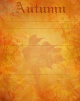 Autumn Stationary by JunkbyJen by JunkbyJen