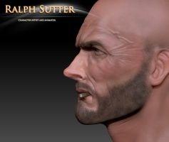 Clint 3D Model Color Test 5 by FoxHound1984