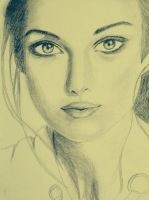 Keira (based on a photo) by artlover-us