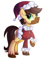 Festive Science Pony by Left2Fail