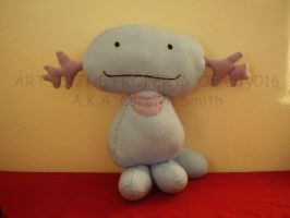 wooper plushie by elfy016