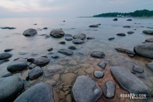 Rocky Shoreline 2 by robb-nelson