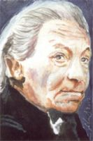 Doctor Who sketch card - William Hartnell 1 by solman1