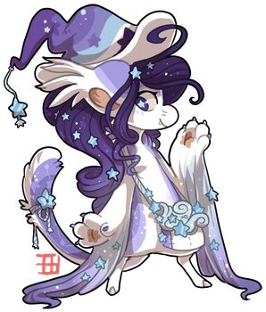 #576 Blessed Biome BB w/m - Stardust by griffsnuff