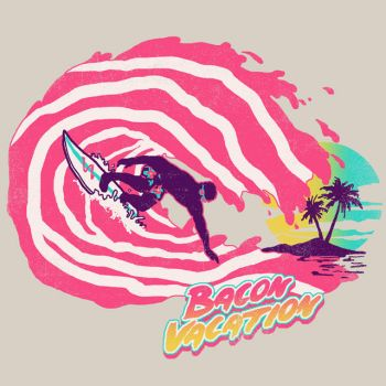 Bacon Vacation by HillaryWhiteRabbit