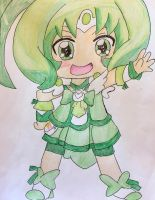 Glitter Force Chibi Series Spring by Lea Voegeli by CaptainMockingjay