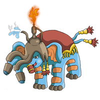 Fakemon - Irrelephant by Trueform