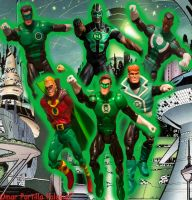 Green Lanterns Corps Earth by Spidey-Portilla