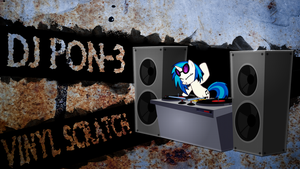 DJ Pon-3 Wallpaper by Ganillio