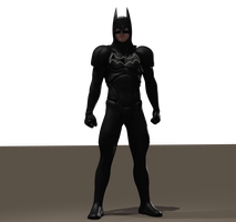 Batman textures for Xurge 3d flexxsuit by hiram67