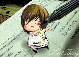Taemin on my book by KnotBerry