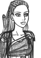 Lexa: Sketch by yryahuln